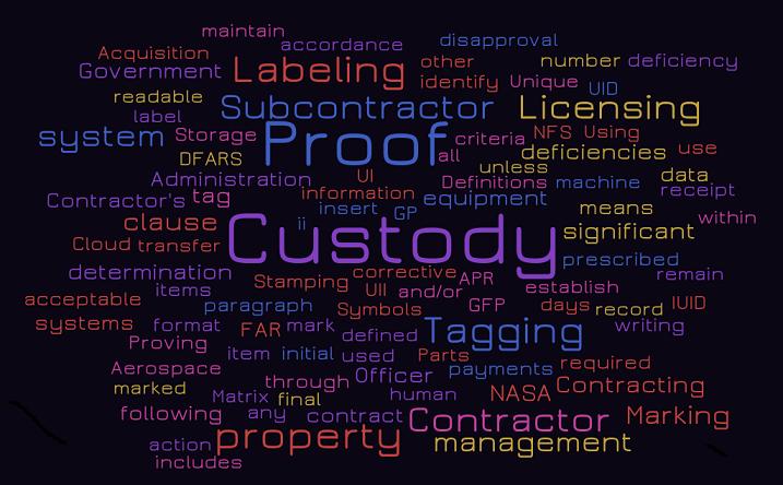 Custody, Custody, Custody